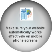 Make your website work effectively on mobile phone screens